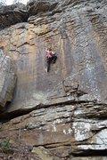 Rock Climbing Photo: Morgan on Pancakes and Syurp