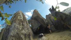 Rock Climbing Photo: The Pinching!