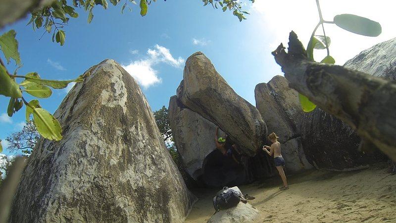 Rock Climbing Photo: The Cracken'ing