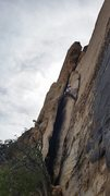 Rock Climbing Photo: P2 of Upper Solar Slab