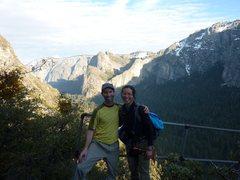 Rock Climbing Photo: Robin and Erick at Rainbow Point