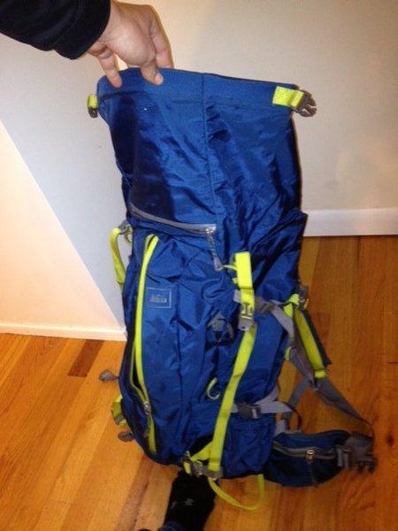 Rock Climbing Photo: Backpack
