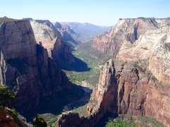 Rock Climbing Photo: Zion Canyon