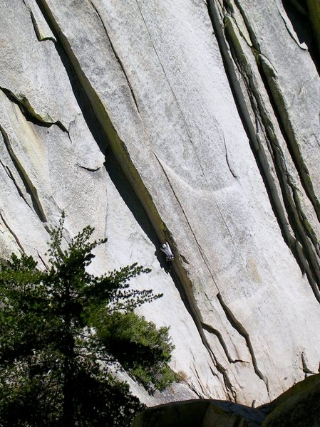 Climber on Igor Unchained, The Witch.