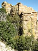 Rock Climbing Photo: AZ Winter day.