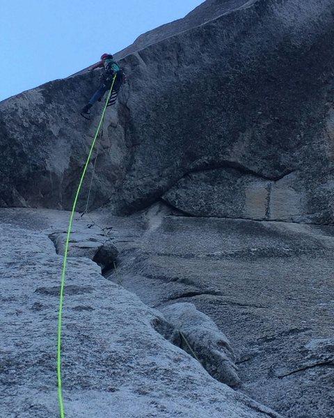 Rock Climbing Photo: Kor Roof 2015