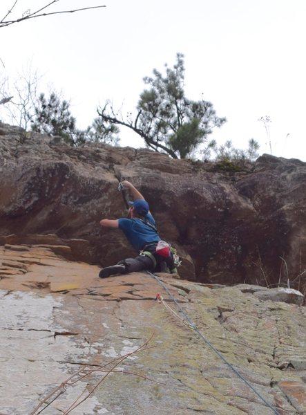 Rock Climbing Photo: plugging pro