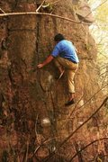 Rock Climbing Photo: First ascent