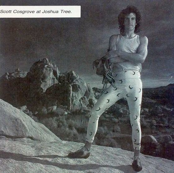 Scott Cosgrove (1988), Joshua Tree NP<br> <br> Photo by Phil Bard