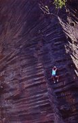 Rock Climbing Photo: Matt Christensen on Anaphylactic Shock (5.11d), Wi...