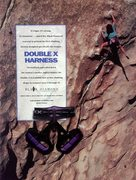 Rock Climbing Photo: Black Diamond ad featuring Mari Gingery on Satanic...