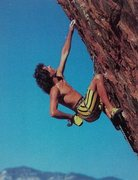 Rock Climbing Photo: Scott Cosgrove on The Gift (5.12d), Red Rock  Phot...