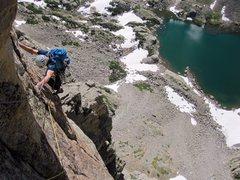 Rock Climbing Photo: Southwest Corner, Sabre.
