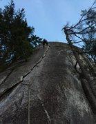 Rock Climbing Photo: Karens Math
