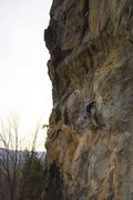 Rock Climbing Photo: Charlie (Chunk) Miller-Nelson approaching Iron Man...