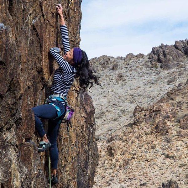 "Rock Climbing Photo: On ""Improbable"" at New Jack City Photo b..."