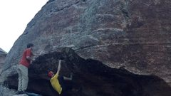 Rock Climbing Photo: Start-ish.