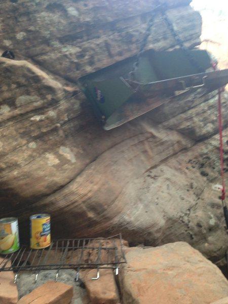Rock Climbing Photo: Grill