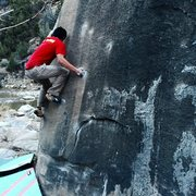 Rock Climbing Photo: Michael Madsen climbs Feels Like Grit