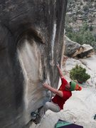 Rock Climbing Photo: Michael Madsen on this classic