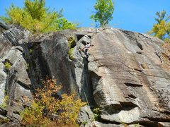 Rock Climbing Photo: awesome climbing at Jimmy Cliff