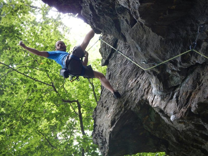 Rock Climbing Photo: loving this climb!