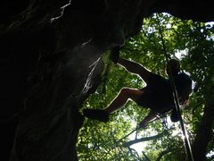 Rock Climbing Photo: cool flic