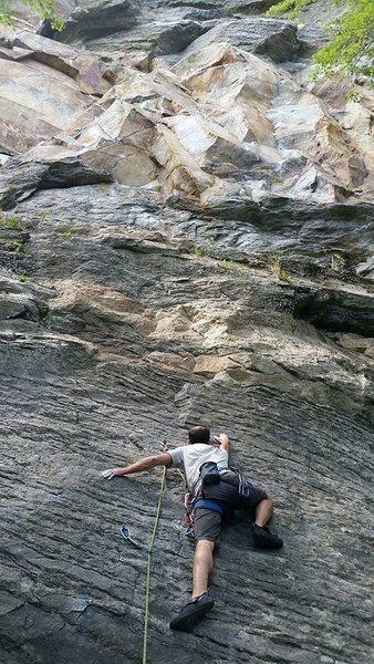 Rock Climbing Photo: good climb!