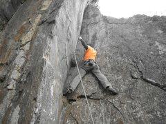Rock Climbing Photo: having a great time!