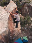 Rock Climbing Photo: Michael Madsen on Lamar