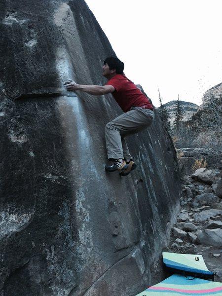 Rock Climbing Photo: Michael Madsen on Feels Like Grit