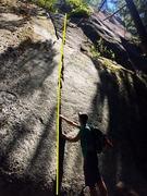 Rock Climbing Photo: Pinky Locks Topo