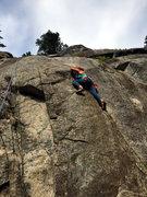 Rock Climbing Photo: Erica