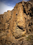 Rock Climbing Photo: Climber on Director's Cut