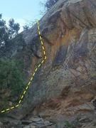 Rock Climbing Photo: Left Arete.