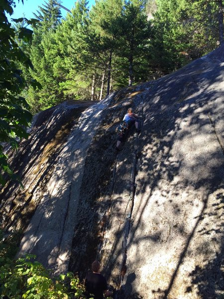 Rock Climbing Photo: Grani