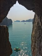 Rock Climbing Photo: View from atop the multipitch. Photo credit: Max M...