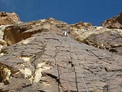 Rock Climbing Photo: Crocodile Rock. Windy Peak.