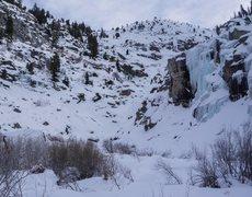Rock Climbing Photo: tokopah falls craggin