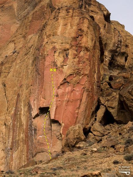 Rock Climbing Photo: Kings of Rap, 5.12d