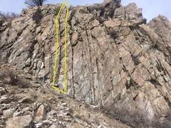 Rock Climbing Photo: Second Crack over.