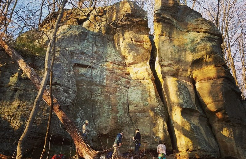 Rock Climbing Photo: Strouds Run. Athens, Oh.