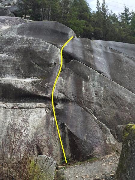 Rock Climbing Photo: Easter Island Topo