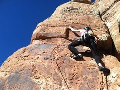 Rock Climbing Photo: Backcountry between CO and UT. Guidebooks aren't b...