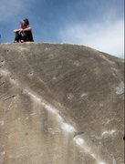 Rock Climbing Photo: Joe's Valley, The Angler, first time climbing real...