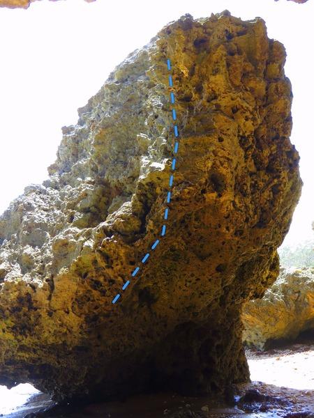 Rock Climbing Photo: Captain Hook