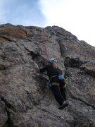 Rock Climbing Photo: Jen havin' fun on Liken...