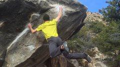 Rock Climbing Photo: Sending in Joe's 2016
