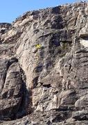 Rock Climbing Photo: Bullet Proof topo