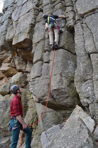 Boy scout ledges